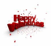 Giorno del biglietto di S. Valentino royalty illustrazione gratis