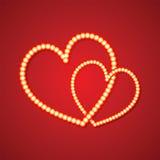 Giorno del biglietto di S. Valentino Fotografia Stock Libera da Diritti