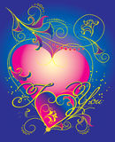 Giorno del biglietto di S. Valentino Fotografia Stock