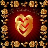 Giorno del biglietto di S. Valentino illustrazione vettoriale