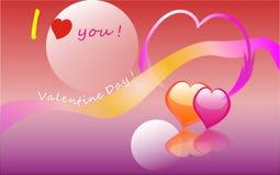 Giorno del biglietto di S. Valentino Immagini Stock Libere da Diritti