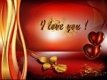 Giorno del biglietto di S. Valentino della st Fotografie Stock Libere da Diritti