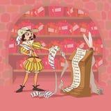 Giorno del biglietto di S. Valentino duro di Don Juan Fotografia Stock