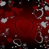 Giorno del biglietto di S. Valentino felice illustrazione di stock