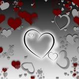Giorno del biglietto di S. Valentino felice illustrazione vettoriale
