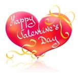 Giorno del biglietto di S. Valentino felice! Fotografia Stock