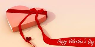 Giorno del biglietto di S. Valentino felice Fotografie Stock