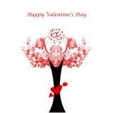 Giorno del biglietto di S. Valentino felice Immagine Stock Libera da Diritti