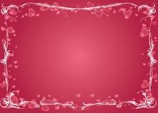 Giorno del biglietto di S. Valentino felice Fotografie Stock Libere da Diritti