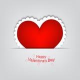 Giorno del biglietto di S. Valentino s della scheda di regalo Immagini Stock Libere da Diritti