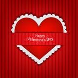 Giorno del biglietto di S. Valentino s della scheda di regalo Fotografia Stock