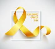 Giorno del Cancro di infanzia illustrazione vettoriale