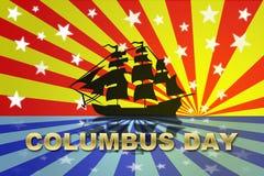 Giorno del Christopher Columbus Fotografia Stock