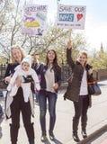 Giorno 2 del colpo di 48 ore da Junior Doctors Fotografia Stock Libera da Diritti