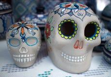 Giorno del cranio di morte Fotografie Stock