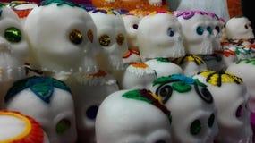 Giorno del cranio guasto dello zucchero fotografia stock libera da diritti