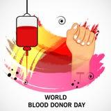 Giorno del donatore di sangue del mondo immagine stock libera da diritti
