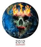 Giorno del giudizio universale 2012 illustrazione vettoriale