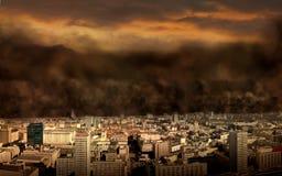 Giorno del giudizio universale Fotografie Stock