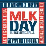 Giorno del Martin Luther King Immagini Stock