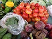 Giorno del mercato a Port Elizabeth, Bequia. Immagini Stock