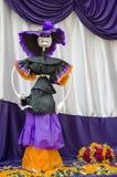 Giorno del messicano morto Catrina Doll Fotografia Stock Libera da Diritti
