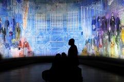 Giorno del museo a Parigi Fotografia Stock Libera da Diritti