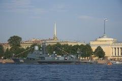 Giorno del Nave di Russain Immagine Stock Libera da Diritti