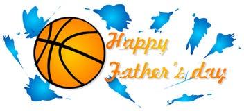 Festa del papà felice Immagine Stock