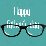 Giorno del padre felice Immagine Stock