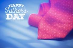 Giorno del padre felice Fotografia Stock Libera da Diritti
