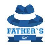 Giorno del padre felice Immagini Stock Libere da Diritti