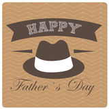 Giorno del padre felice Fotografie Stock Libere da Diritti