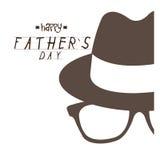 Giorno del padre felice Immagini Stock