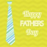 Giorno del padre felice Vector la carta con i vetri di vino sul modello senza cuciture del gallone Fotografia Stock