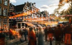 Giorno del re, Amsterdam Immagini Stock