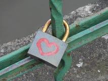 Giorno del `s del biglietto di S Cuore del cuore Fotografia Stock Libera da Diritti