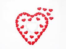 Giorno del `s del biglietto di S giorno di tutti nell'amore Immagine Stock
