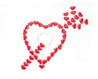 Giorno del `s del biglietto di S giorno di tutti nell'amore Immagini Stock Libere da Diritti