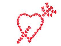 Giorno del `s del biglietto di S giorno di tutti nell'amore Fotografia Stock Libera da Diritti