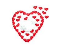 Giorno del `s del biglietto di S giorno di tutti nell'amore Fotografie Stock Libere da Diritti