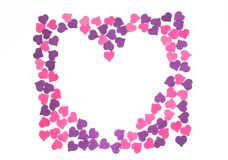 Giorno del ` s del biglietto di S. Valentino, il 14 febbraio Iscrizioni circa amore fotografia stock