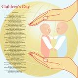 Giorno del ` s dei bambini Immagine Stock Libera da Diritti
