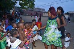 Giorno del ` s dei bambini, un successo Immagini Stock Libere da Diritti