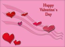 Giorno del `s del biglietto di S. Valentino Immagine Stock