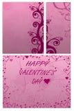 Giorno del `s del biglietto di S. Valentino Immagini Stock Libere da Diritti