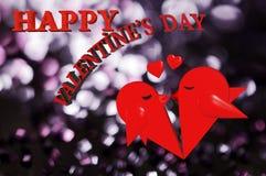 giorno del ` s del biglietto di S. Valentino 3d Immagini Stock
