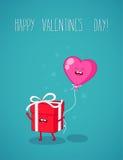 Giorno del ` s del biglietto di S. Valentino della carta Immagine Stock Libera da Diritti