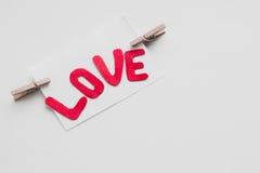 Giorno del ` s del biglietto di S. Valentino della cartolina Immagine Stock