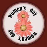 Giorno del ` s delle donne, l'8 marzo Fotografia Stock